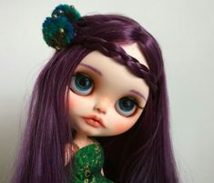 OOAK Unique Twin Berries Custom Blythe Doll : ELOISE for Adoption