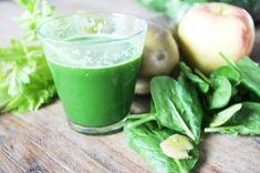 Het originele recept van deze groentesap is voor eenSlowjuicer. Ingrediënten: 3 stengels bleekselderij 1 appel 1 peer schijfje gember 2 handjes spinazie Bereiding: Haal alle ingrediënten door de ...