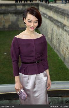 Sun Li | 2012 Christian Dior Couture Show, Fashion Week, Paris