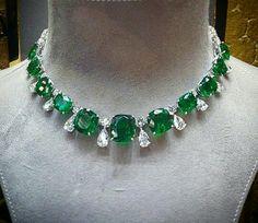 Emeralds & Diamonds, perfect combination