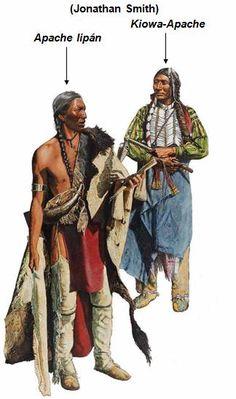 Apache lipán, Kiowa-Apache (Jonathan Smith)