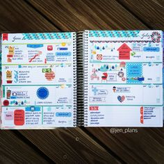 This planner is #goals