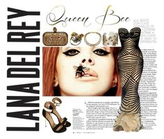 Queen Bee, LDR by monique-nicky-littleford on Polyvore featuring Topshop, Alexander McQueen, women's clothing, women's fashion, women, female, woman, misses and juniors