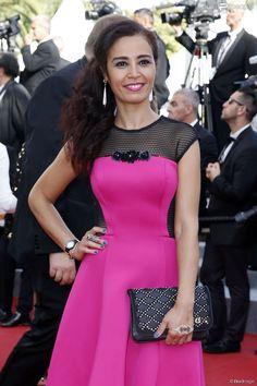 Aïda Touihri wearing a Charriol St-Tropez watch at Cannes Film Festival, May Cannes Film Festival 2015, Charriol, Peplum Dress, Watch, Formal Dresses, How To Wear, Fashion, Dresses For Formal, Moda
