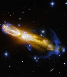 The Calabash Nebula  In this image, taken by the Hubble Space Telescope, you can see the Calabash Nebula (Rotten Egg Nebula, OH 231.8+04.2). It is a pro... - Pierre Markuse - Google+
