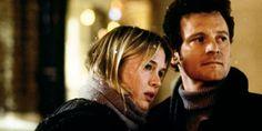 Mark Darcy and Bridget Jones (Colin Firth and Rene Zellweger in Bridget Jones's Diary)