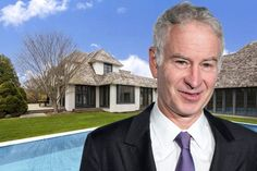 John McEnroe lists his $14.5 million Hamptons estate.