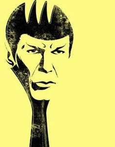 Carter would LOVE this - a Spock spork!
