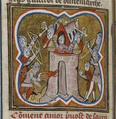 Grandes Chroniques de France . Date d'édition : 1375-1400 Type : manuscrit