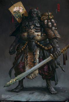 http://yangqi917.deviantart.com/art/Wuguan-king-449831250