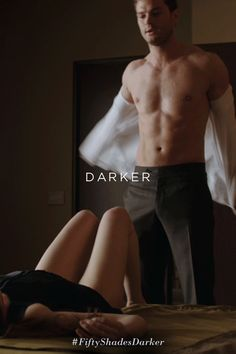 """I can't wait to get you home."" – Jamie Dornan as Christian Grey Fifty Shades Darker Movie, 50 Shades Darker, Fifty Shades Trilogy, Jamie Dornan, Movies And Series, Movie Sites, Mr Grey, Christian Grey, Movies Showing"