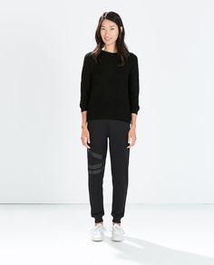 Image 1 of FLEECE TROUSERS from Zara