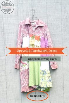 Upcycled Online Sewing Classes for Women by Wendy Bryant of CreoleSha. I will teach you how to create a dress similar to the one in the photo that you will love and wear! Join many others that are already taking these classes. This is class - Upcycled Patchwork Dress or Tunic It is my most popular dress I sell here on Etsy - Im always receiving emails - i would love to learn to create a dress like this well now you can!!! I will show you step by step through video instruction!! I also give…