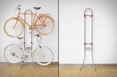 Save space on your house with a bike rack - Home Decorating Trends