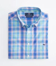 Oakbluffs Plaid Tucker Shirt