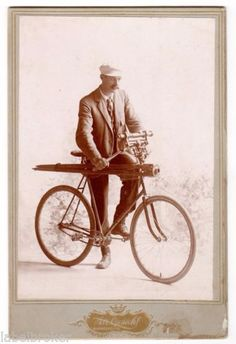 ORIGINAL-CDV-PHOTOGRAPH-ANTIQUE-BICYCLE-PROFESSION-SURVEYING-SURVEYOR