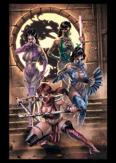 Mortal kombat Girls
