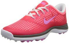 low priced a418f 13308 Nike Golf women s Lunar Empress Golf Shoe,Laser Crimson Red Violet Hot