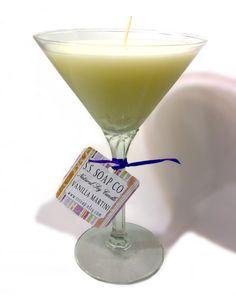 Vanilla Martini Soy Candle - Natural