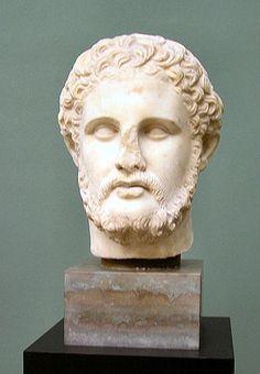 Philip II of Macedon the Greek Kingdom and Alexander The Great's father.интересно, откуда опознание, антропологические характеристики не македонца а эллина.