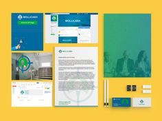 Criação de identidade visual para a empresa de recursos humanos Mollica RH. Foram elaborados a criação do logotipo, cartão de visita, papel timbrado, capa para Facebook e Assinaturas de e-mail e anúncios de vagas.