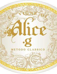 .G - Prosecco DOCG - Le Vigne di Alice #vino #wine #naming #packaging