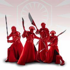Snoke's Elite Praetorian Guards from The Last Jedi.