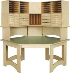 Scrapbook Furniture for Organizing and Storing your Supplies--lots of choices! Craft Room Storage, Craft Organization, Craft Rooms, Storage Ideas, Craft Desk, Craft Space, Paper Storage, Craft Room Design, Sewing Rooms