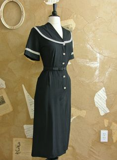 Vintage 40's dress