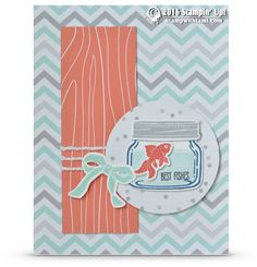 CARD: Best Fishes from the Jar of Love Card | Stampin Up Demonstrator - Tami White - Stamp With Tami Crafting and Card-Making Stampin Up blog