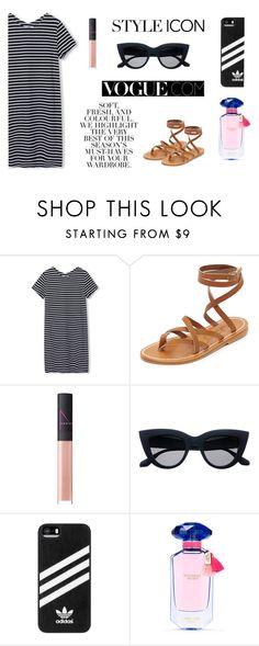 """Vogue summer x"" by alexunterweger ❤ liked on Polyvore featuring K. Jacques, NARS Cosmetics, Folio, adidas, Victoria's Secret and Diane Von Furstenberg"