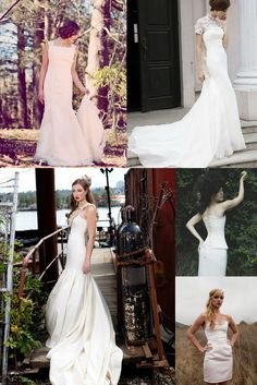 I don't know if I can pull it off, but I LOVE that dress in the top right corner! So pretty!!