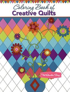 Coloring Book of Creative Quilts<BR>Landauer Publishing