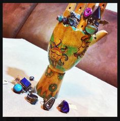 Ring Display --> Wanderluster Dreams Handcrafted Jewelry By Unny K #bangkok Thailand