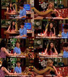 Sabrina, Freddie's mystery girlfriend??? : /