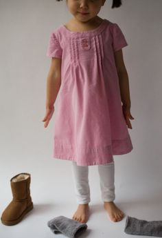 Corduroy Oliver & S Family Reunion dress :: Nested in Stitches