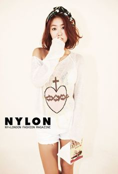 Sistar's Soyu // Nylon Korea // September 2013