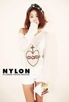 Sistar's Soyu // Nylon Korea // September 2013