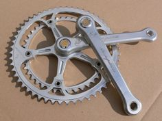 CAMPAGNOLO 50TH ANNIVERSARY crankset 172,5mm with gold dust caps and crankbolts | eBay Vintage Bike Parts, 50th Anniversary, Gold, Ebay, Vintage Bicycle Parts