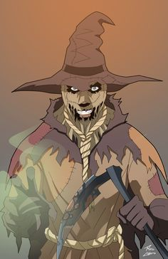Scarecrow on the loose by phil-cho.deviantart.com on @DeviantArt