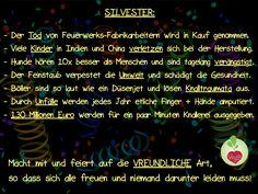 Silvester ohne Tier- und Menschenleid!  Veganer feiern vreundlich!  #vegan #tierschutz #silvester #hunde #keineböller