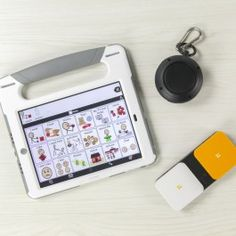 """QuickTalker Freestyle.// This is a highly customizable and accessible iPad-based speech generating device for augmentative and alternative communication.// Pinned by MLC."