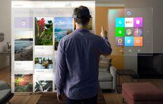 Avec le casque HoloLens, les jeux Xbox vont mélanger le réel et le virtuel. Le mode «holographique» de Windows permet d'interagir avec des menus 3D superposés au monde réel grâce aux lunettes HoloLens.