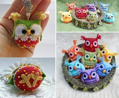 You are going to love this Crochet Baby Owls Pattern Free Video Tutorial and we have all the best ideas. Crochet Owls, Crochet Amigurumi Free Patterns, Crochet Baby, Free Crochet, Knit Crochet, Knitting Patterns, Booties Crochet, Baby Booties, Owl Patterns