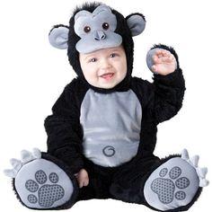 Goofy Gorilla Infant / Toddler Costume Size 12-18 Months - Baby's Halloween Costume.