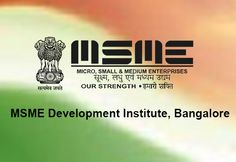 MSME-DI to conduct one-month #skill development #programme for #unemployed youth in B'lore