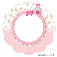 """Photo from album """"шаблоны рамочки"""" on Yandex. Printable Labels, Printable Paper, Printables, Binder Labels, Diy And Crafts, Paper Crafts, Baby Shower, Flower Frame, Baby Cards"""