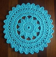 Crochet Doily Rug Pattern — Crafthubs