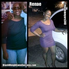 Renae lost 55 pounds | Black Weight Loss Success