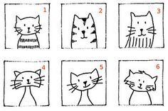 Cat Clip Art - for embroidery